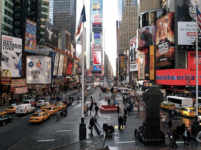 Times Square by Snorpey (Creative Commons)