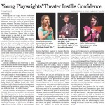 Byline: Four Local Students Become Published Playwrights
