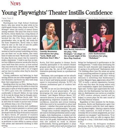 YoungPlaywrightsTheaterScreenShot