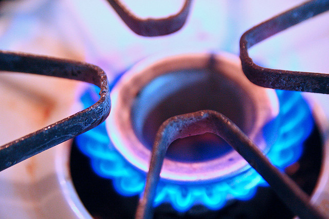 Gas Stove Burner Image