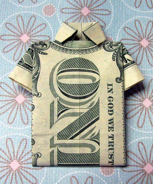 Origami Dollar Image